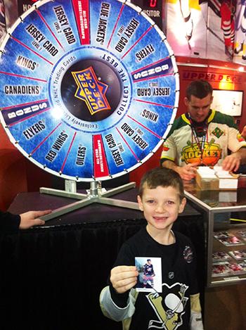 2015-NHL-All-Star-Fan-Fair-Weekend-Best-Moments-Upper-Deck-Wheel-of-Jersey-Cards-2