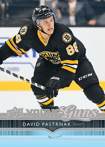 2014-15-NHL-Upper-Deck-Series-Two-Young-Guns-David-Pastrnak