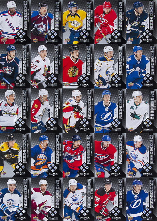 2014-15-NHL-Black-Diamond-Rookie-Redemption-Quad-Gems-Full-Set