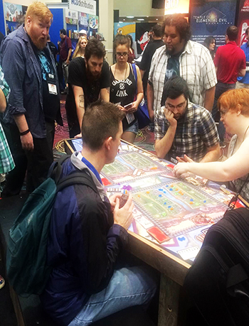 2015-Upper-Deck-Entertainment-GAMA-Trade-Show-Bring-Out-Yer-Dead-Coffin-Table-Game-2
