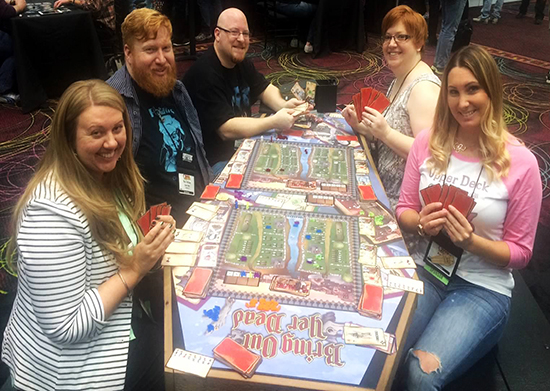 2015-Upper-Deck-Entertainment-GAMA-Trade-Show-Bring-Out-Yer-Dead-Coffin-Table-Game