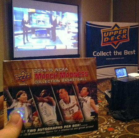 2015-beckett-las-vegas-industry-summit-collectibles-sports-cards-upper-deck-march-madness-viewing-party