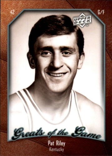 Upper Deck Throwback Thursday Create the Caption Promotion: Pat Riley