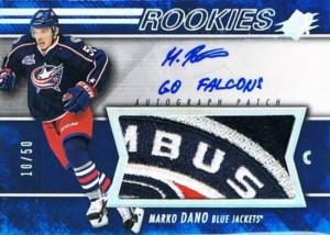 2014-15-NHL-SPx-Autograph-Patch-Rookie-Marko-Dano