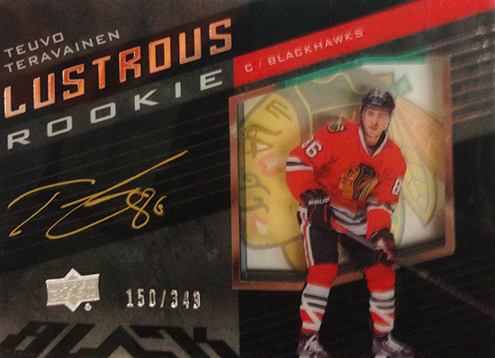 2014-15-NHL-Upper-Deck-Ice-Black-Lustrous-Signatures-Rookie-Teuvo-Teravainen
