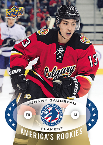 2015-Upper-Deck-Johnny-Gaudreau-Americas-Rookies-National-Hockey-Card-Day