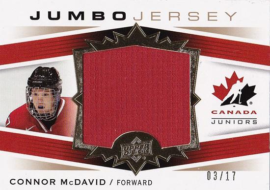 Connor-McDavid-2014-15-Upper-Deck-Team-Canada-Jersey