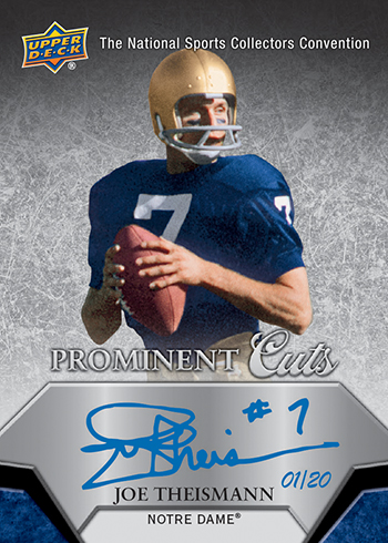 2015-Upper-Deck-National-Sports-Collectors-Convention-Prominent-Cuts-Autograph-Theismann