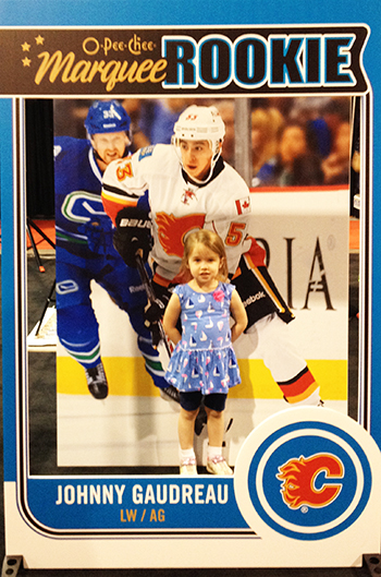 spring-sport-card-memorabilia-expo-kids-kid-focussed-marketing-initiative-gaudreau-3d-trading-card-photo-opp