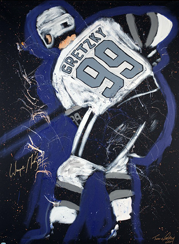 wayne-gretzky-autographed-tim-decker-original-speed-painting-canvas-signed-fathers-day-gift-hockey-dad-9
