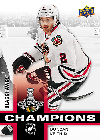duncan keith stanley cup champion set