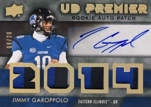 Best-Rookie-Cards-Collect-Valueable-Rare-Jimmy-Garoppolo-Upper-Deck-Premier