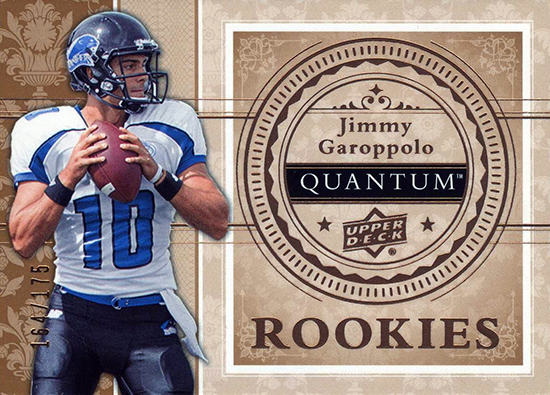 Best-Rookie-Cards-Collect-Valueable-Rare-Jimmy-Garoppolo-Upper-Deck-Quantum