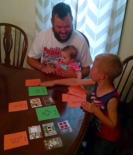 Upper-Deck-Dads-Read-Father-Son-Teach-Kids-Dad-Trading-Cards-Math-Arithmatic