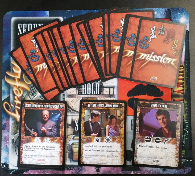 Firefly Mission Cards