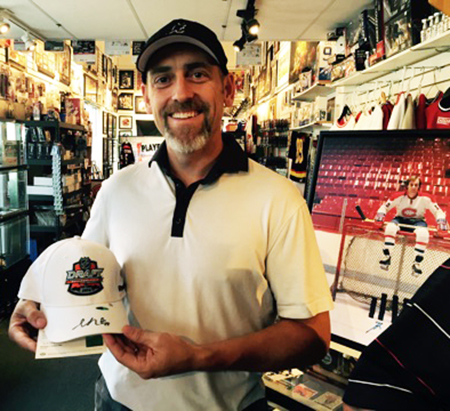 Players-Choice-Kelowna-BC-Upper-Deck-Silver-Celebration-Event-Prize-NHL-Draft-Hat