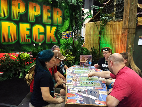 Gen-Con-Indy-2015-Upper-Deck-Entertainment-Predator-Booth-Demo-Bring-Out-Yer-Dead