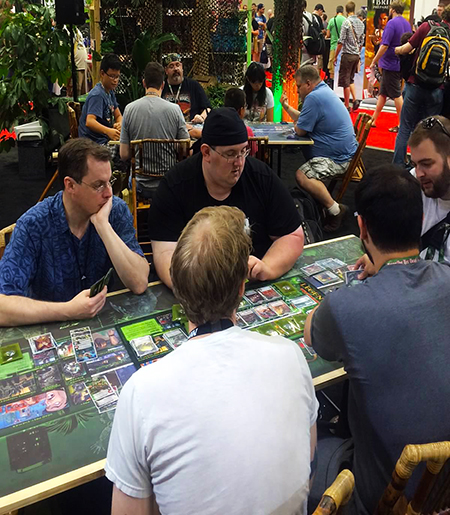 Gen-Con-Indy-2015-Upper-Deck-Entertainment-Predator-Booth-Demo