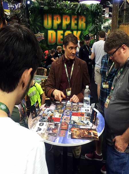 Gen-Con-Indy-2015-Upper-Deck-Entertainment-Predator-Booth-Firefly-Demo
