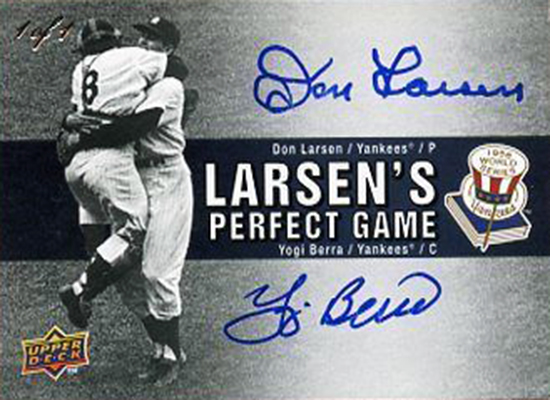 Upper-Deck-Yogi-Berra-Don-Larsen-Perfect-Game-Dual-Autograph