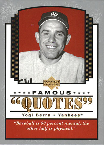 upper deck remembers yogi berra yankee legend