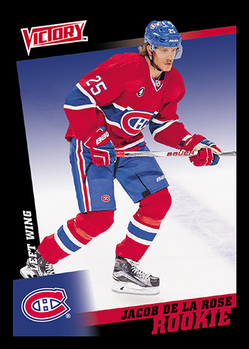 2015-16-Upper-Deck-Fall-Expo-Victory-Black-Jacob-De-La-Rose-Rookie