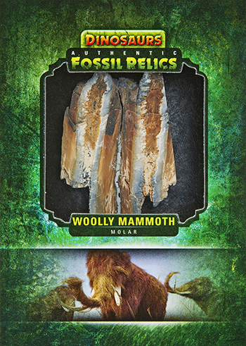 2015-Upper-Deck-Dinosaurs-Fossil-Relic-Cards-Wooly-Mammoth