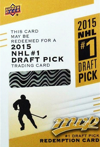2015-16-Upper-Deck-MVP-1-Draft-Pick-Redemption-Connor-McDavid