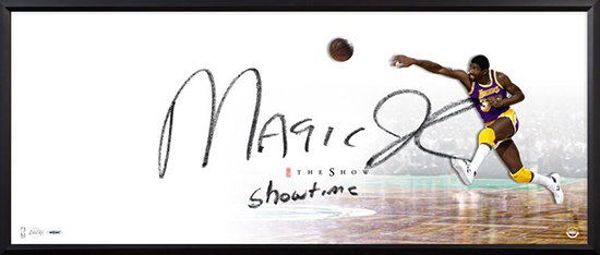 2015-magic-johnson-autographed-inscribed-the-show-framed-82740_1