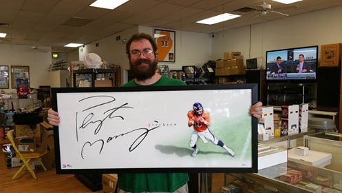 """Autographed Peyton Manning """"The Show"""""""