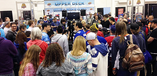 Spring-Expo-Upper-Deck-Booth-Raffle-Crowded-Busy