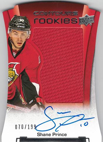 2015-16-NHL-Upper-Deck-Shane-Prince-Rookie-Card-Contours-Autograph-Jersey-Die-Cut