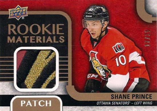 2015-16-NHL-Upper-Deck-Shane-Prince-Rookie-Card-Patch-UD1