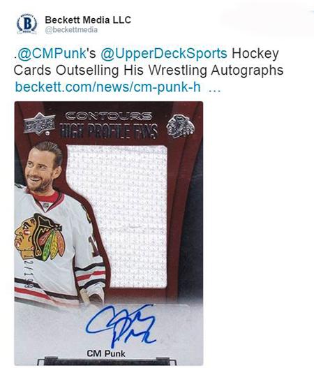 Upper-Deck-Contours-NHL-CM-Punk-Autograph-Blackhawks-Card