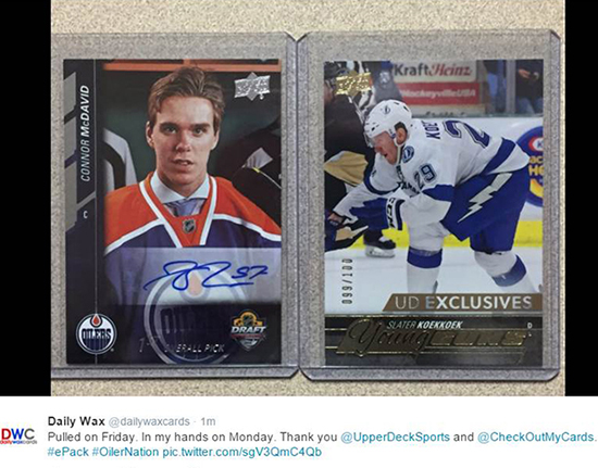 Upper-Deck-e-Pack-NHL-Connor-McDavid-Autograph-Card-COMC