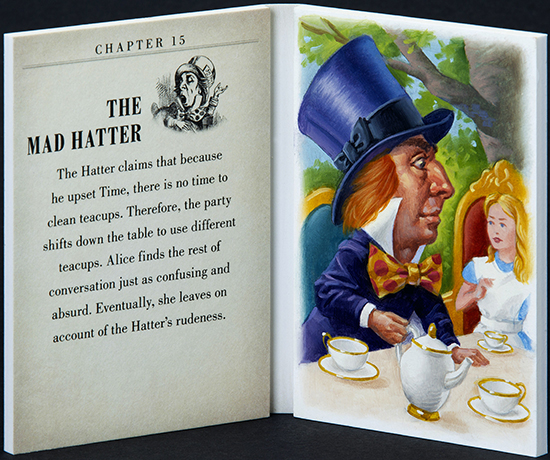 2016-Upper-Deck-Goodwin-Champions-Alice-in-Wonderland-Artist-Sketch-Booklet-Card-LIVE-The-Mad-Hatter-Johnny-Depp