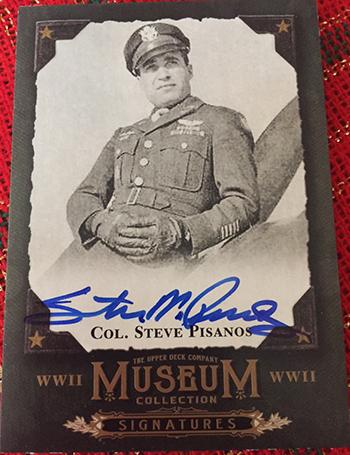 2016-Upper-Deck-Goodwin-Champions-WWII-Veteran-Autograph-Colonel-Steve-Pisanos-1