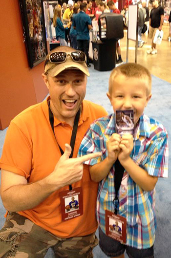 National-Sports-Collectors-Convention-Upper-Deck-Autographs-Michael-Jordan-Cards-Father-Son-Kids-Memories