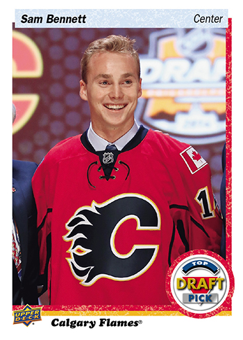 2016-Upper-Deck-NHL-Draft-Pick-Set-Sam-Bennett