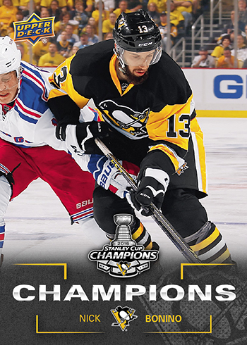 2016-Upper-Deck-Stanley-Cup-Champion-Pittsburgh-Penguins-Nick-Bonino