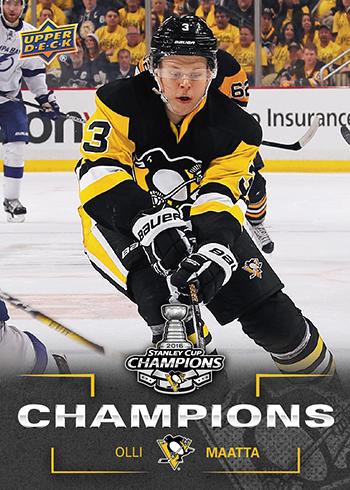 2016-Upper-Deck-Stanley-Cup-Champion-Pittsburgh-Penguins-Olli-Maata