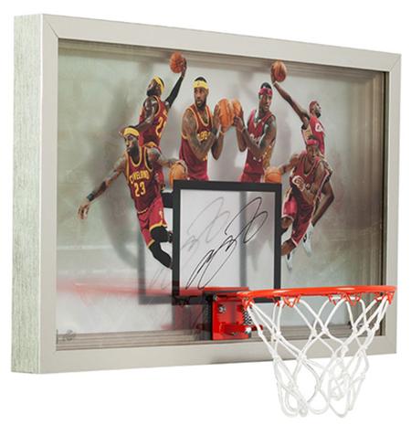 lebron-james-autographed-deja-vu-acrylic-backboard-cleveland-cavaliers-angle