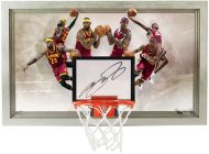 Brag Photo: Upper Deck Innovates Again with the LeBron James Autographed Déjà vu Acrylic Backboard
