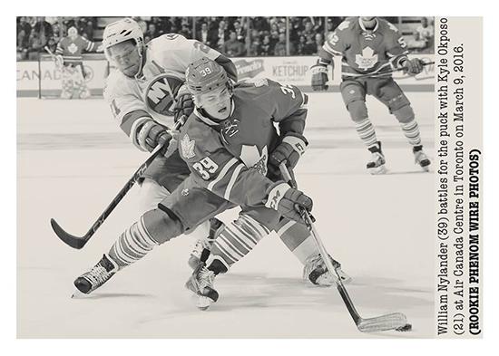 2016-17-Upper-Deck-NHL-Portfolio-Rookie-Redemption-William-Nylander-Wire-Photo