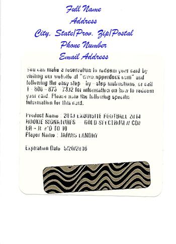 Expired-Upper-Deck-Redemption-Card-Raffle