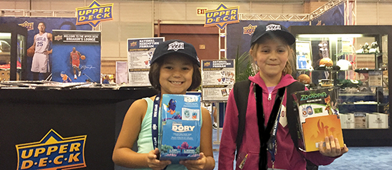 Upper-Deck-National-Sports-Collectors-Convention-Kids-Entertainment-Street-Team