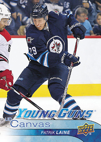 2016-17-NHL-Upper-Deck-Series-One-Young-Guns-Rookie-Card-Canvas-Patrik-Laine