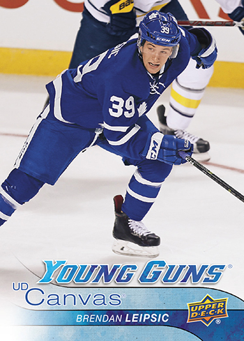 2016-17-NHL-Upper-Deck-Series-One-Young-Guns-Rookie-Card-Canvas-Brendan-Leipsic
