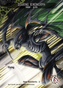 2016-upper-deck-card-preview-legendary-encounters-alien-expansion-card-enemy-soaring-xenomorph-flying