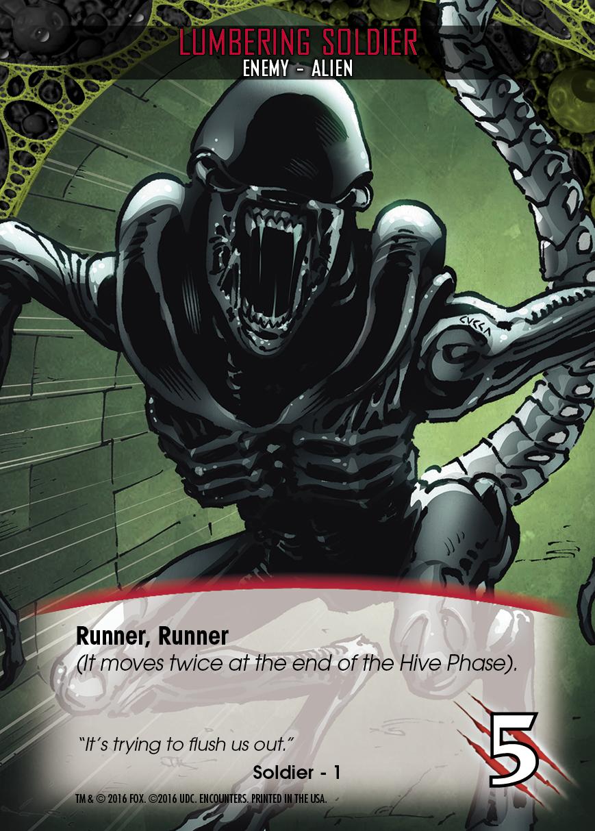 Legendary® Encounters: Alien™ Expansion Preview: Hard mode